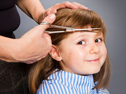 Haarschnitt Mädchen