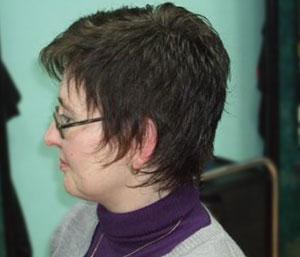 Frisur kurzes Haar