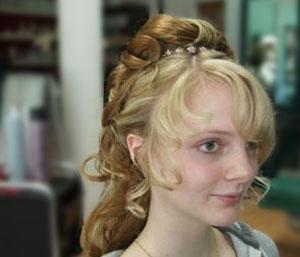 Frisur langes Haar